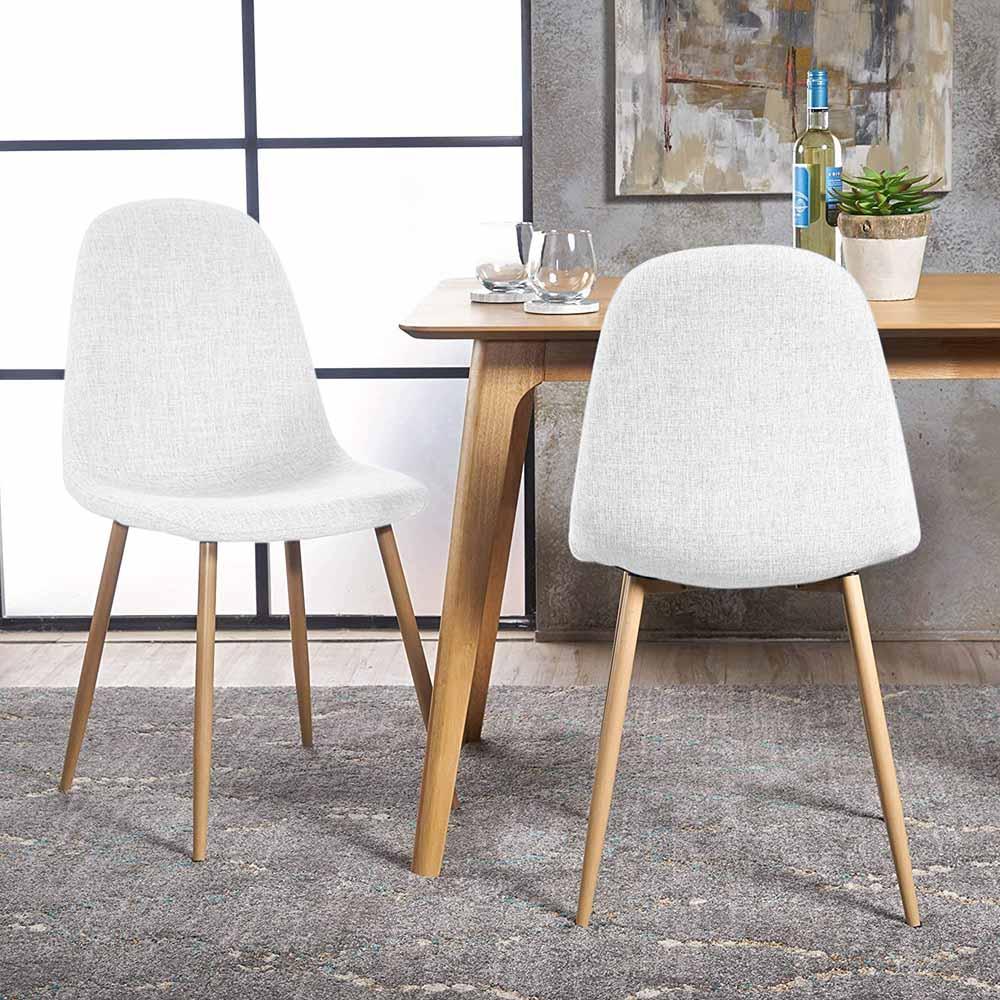 szövetborítású szék fehér