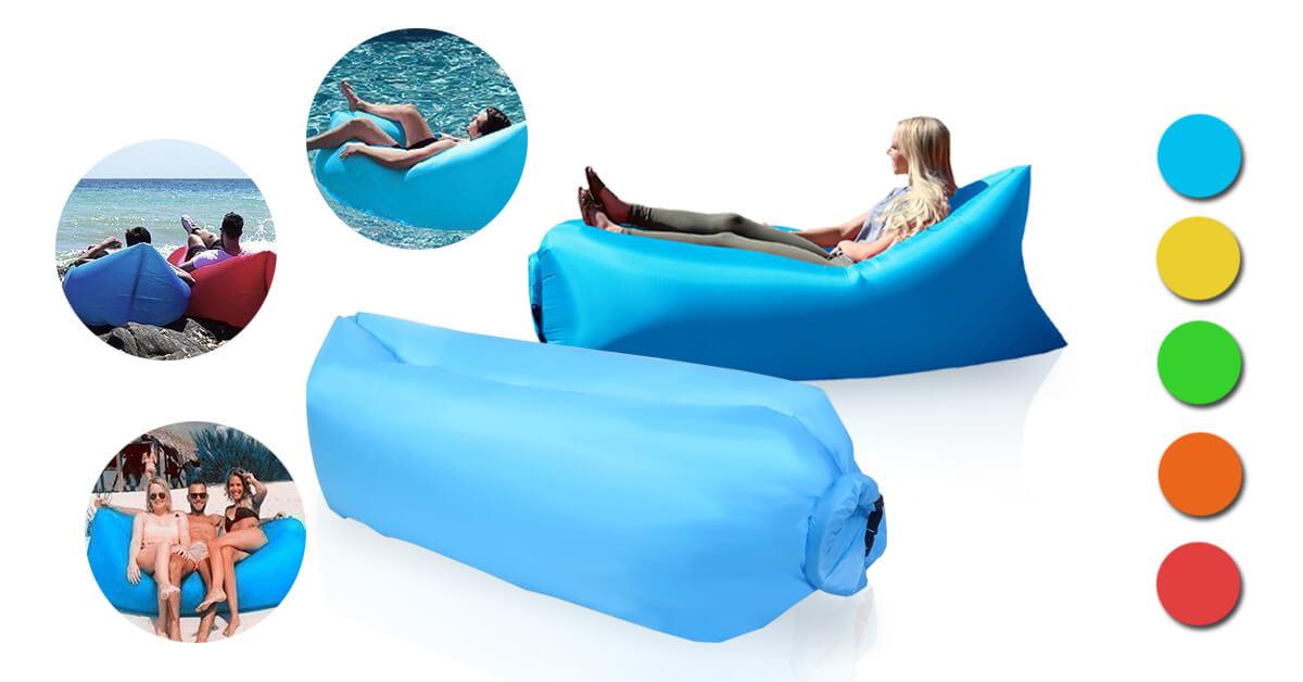 Levegővel tölthető relax ágy