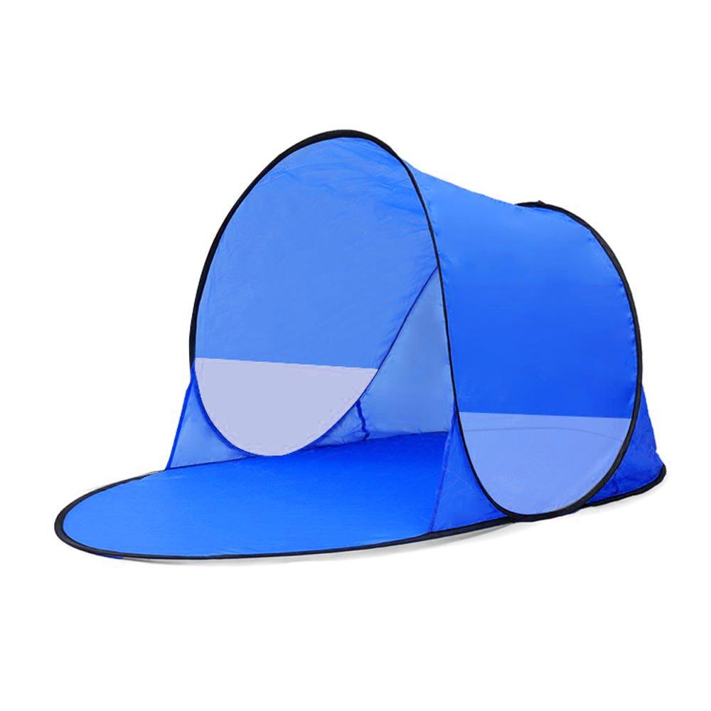 Strandsátor kék színben
