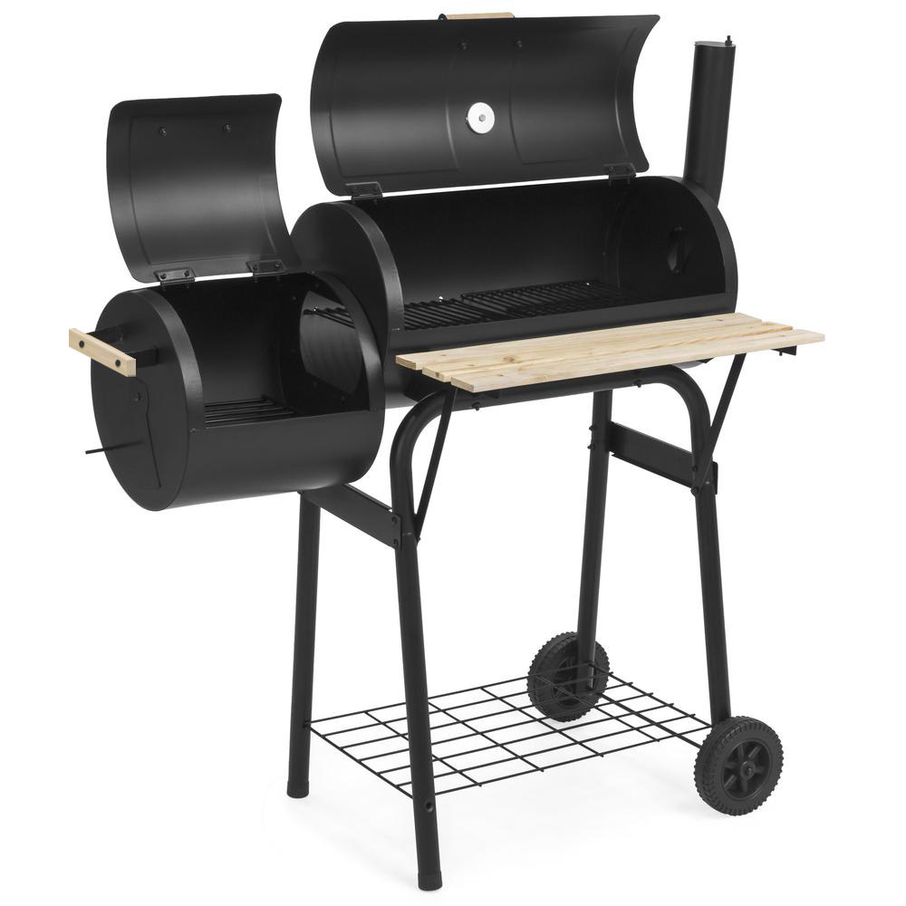 2in1 BBQ grill és smoker
