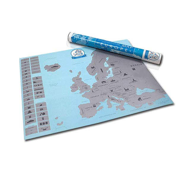 Európa térkép díszdobozan